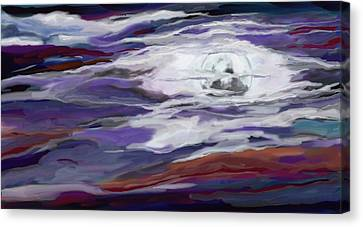 La Luna 2 Canvas Print by Jeanne Fischer
