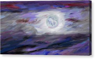 La Luna Canvas Print by Jeanne Fischer