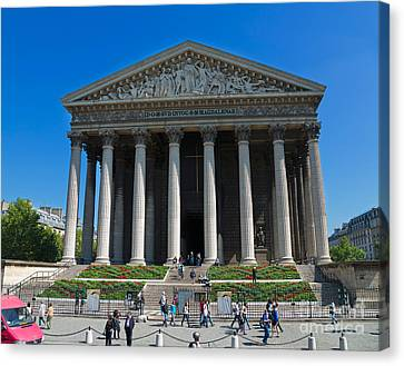 La Madeleine Paris Canvas Print by Louise Heusinkveld
