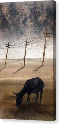 La Mancha Canvas Print by Jose Luis Alcover