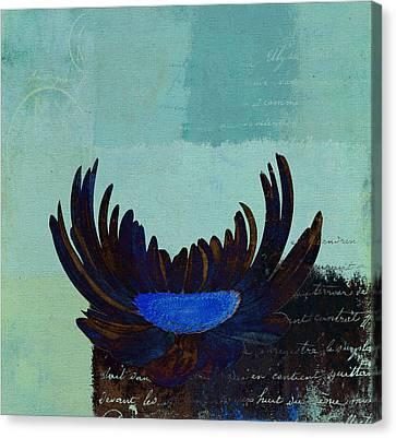 La Marguerite - 140182085-c2bt1a Canvas Print by Variance Collections