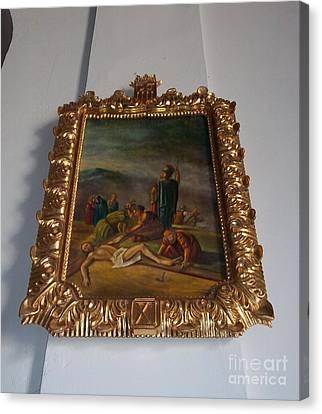 La Merced Via Crucis 11 Canvas Print by Vladimir Berrio Lemm