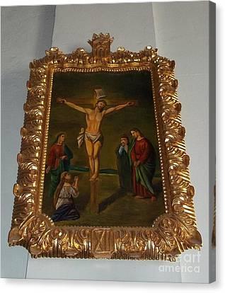 La Merced Via Crucis 12 Canvas Print by Vladimir Berrio Lemm