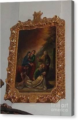 La Merced Via Crucis 14 Canvas Print by Vladimir Berrio Lemm