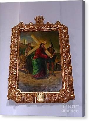 La Merced Via Crucis 2 Canvas Print by Vladimir Berrio Lemm