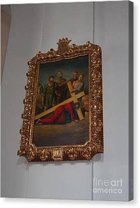 La Merced Via Crucis 3 Canvas Print by Vladimir Berrio Lemm