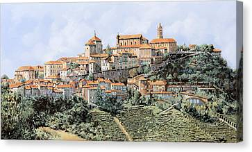 La Morra Canvas Print by Guido Borelli