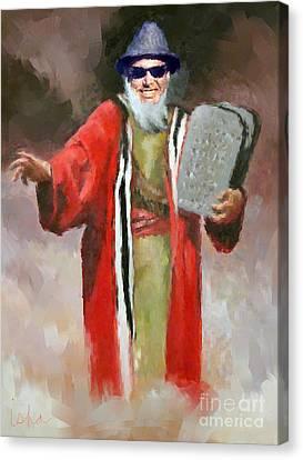 La Moses Canvas Print by Gerhardt Isringhaus