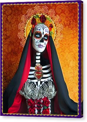 La Muerte Canvas Print by Tammy Wetzel