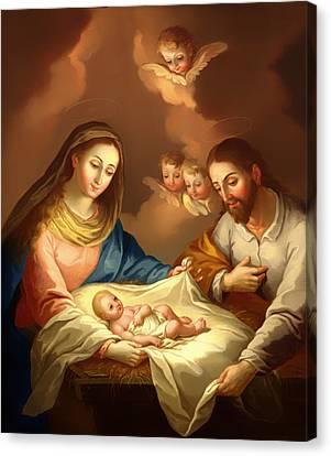 La Natividad  Canvas Print by Mountain Dreams