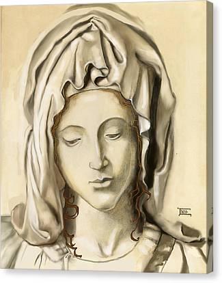 La Pieta 2 Canvas Print