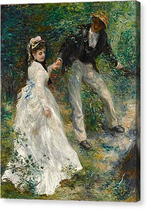 Getty Canvas Print - La Promenade by Pierre-Auguste Renoir