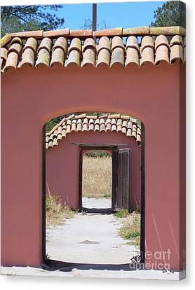 La Purisima Doorways Canvas Print