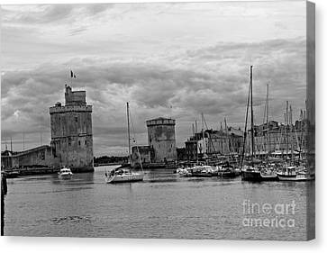 Canvas Print featuring the photograph La Rochelle by Cendrine Marrouat