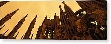La Sagrada Familia Barcelona Spain Canvas Print by Panoramic Images