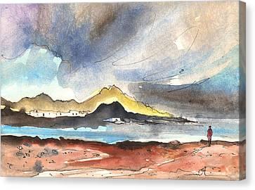 La Santa In Lanzarote 01 Canvas Print
