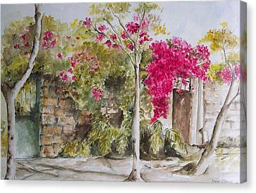 Bougainvillea I Canvas Print