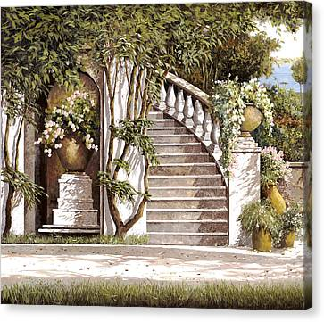La Scalinata Canvas Print