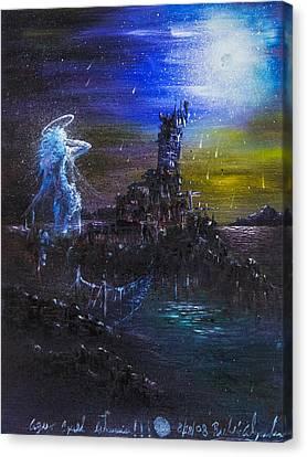 La Torre De Los Lamentos Canvas Print by Ruben Santos