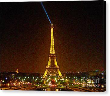La Tour Eiffel Canvas Print by Al Bourassa