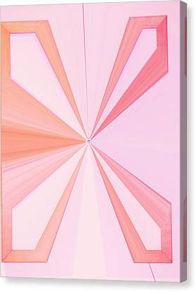La Vie En Rose 11   3.23.14 Canvas Print by Rozita Fogelman