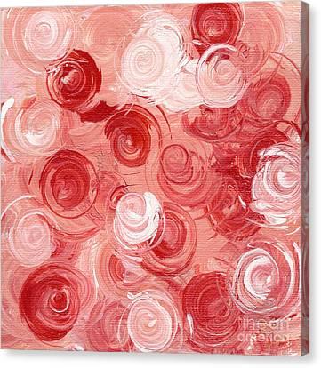La Vie En Rose Canvas Print by Alys Caviness-Gober