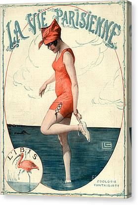 La Vie Parisienne 1910s France Georges Canvas Print by The Advertising Archives