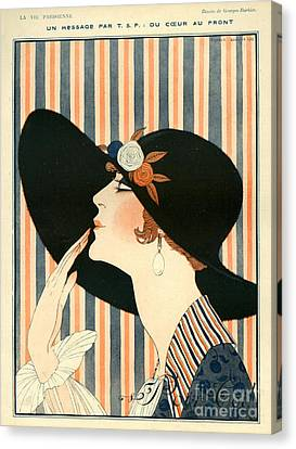 La Vie Parisienne 1918 1910s France G Canvas Print by The Advertising Archives