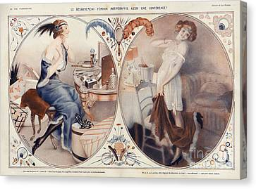 La Vie Parisienne 1922 1920s France Leo Canvas Print