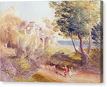 Villa Canvas Print - La Vocatella by Samuel Palmer