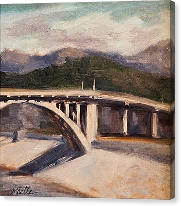 La Wash Canvas Print by Athena  Mantle
