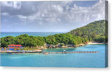 Labadee Canvas Print by Shelley Neff
