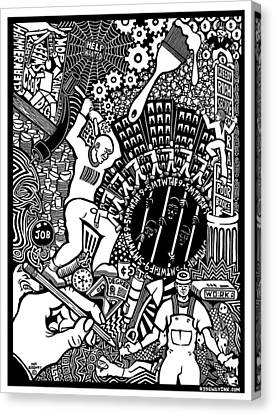 Labor Daze Canvas Print by Matthew Ridgway