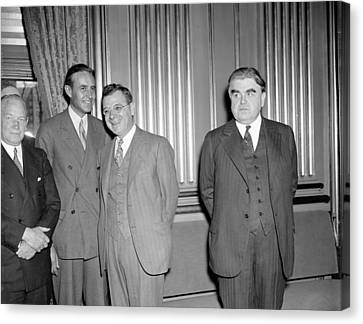 Labor Leaders, 1937 Canvas Print by Granger