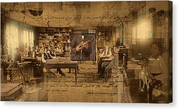 Canvas Print featuring the photograph Labor Of Love by Ron Crabb