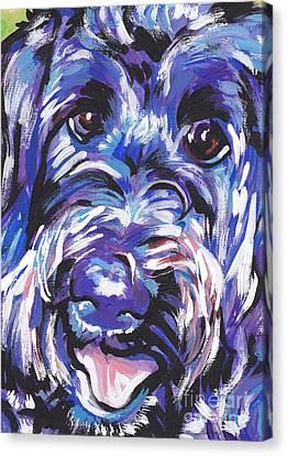 Labra Doodly Do Canvas Print
