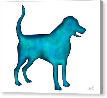 Labrador Retriever Canvas Print by Laura Bell
