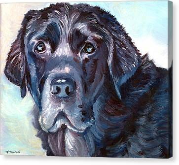Labrador Retriever Canvas Print by Lyn Cook