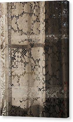Lace Curtain 2 Canvas Print by Jocelyn Friis