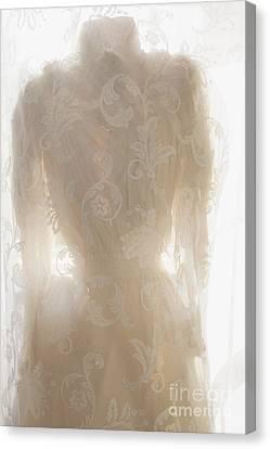 Lace Upon Lace Canvas Print