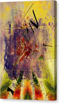 Laceration Licks  Canvas Print by Empty Wall