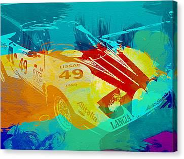 Lacia Stratos Watercolor 1 Canvas Print by Naxart Studio