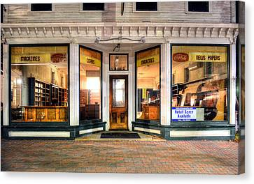 Lackey's Drug Store - Stowe Vermont Canvas Print