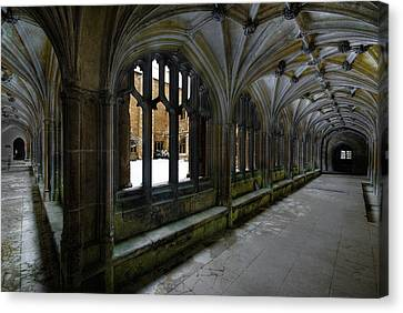 Lacock Abbey Canvas Print by John Chivers