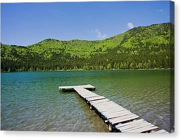 Lacul Sfanta Ana (anna Lake Canvas Print by Martin Zwick
