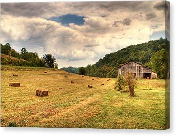 Lacy Farm Morgan County Kentucky Canvas Print by Douglas Barnett