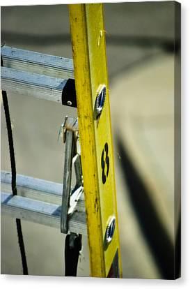 Ladder No 8 Canvas Print by Christi Kraft