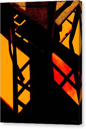Ladderback Flamenco Canvas Print