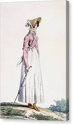 Ladies Summer Dress Canvas Print
