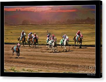 Ladies World Chapionship Ladies Cup Missing One Lady Canvas Print